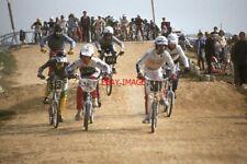 PHOTO  1984 SHOREHAM-BY-SEA SUSSEX BMX RACING VIEW 1
