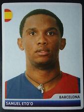 Panini 20 Samuel Eto'o FC Barcelona UEFA CL 2006/07