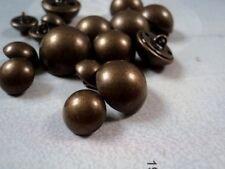 M214 baby&big half ball dome metal italian buttons- ANTIQUE BRASS COAT JACKET