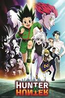 "Hunter X Hunter Anime Poster - Group - 24"" x 36"""