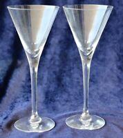 2 Scandinavian Orrefors Victoria sherry glasses 75ml