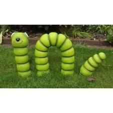 Gartenfigur Wurm 3-teilig 3852 Garten Deko Polyresin Figur