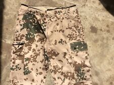 MENS GERMAN TROPENTARN SKINNY CAMO COMBAT TROUSERS W32 L32 IN VGC