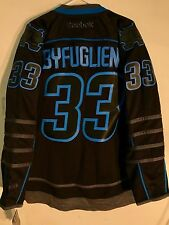 Reebok Premier NHL Jersey Winnipeg Jets Dustin Byfuglien Black Ice sz XL