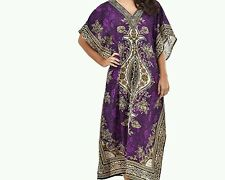New  women's long kaftan dress Floral  Print african style free size
