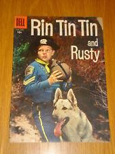 RIN TIN TIN AND RUSTY #20 G+ (2.5) 1957 DELL WESTERN COMIC