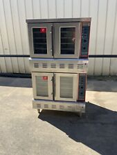 Lang Strato Series Accu-Stat Gas double stack convection oven Gcof-T-Nat kitchen
