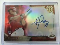 Topps Tribute 2016 Baseball Auto Autograph RC Rookie Stephen Piscotty RED 5/5