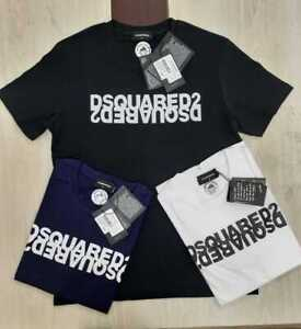 DSQUARED2 T Shirt Regular fit Short Sleeve cotton brand new