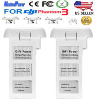 2x 4480mAh for DJI Phantom 3 SE Professional Advanced Standard Li-Po Battery