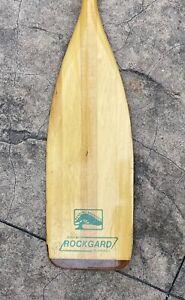 """Bending Branches Wooden Canoe Paddle Oar w Rockgard 60"""""""
