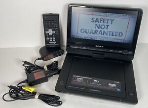 "Sony DVP-FX930 Portable DVD Player 9"" + DC/Car Power Supply & Remote"