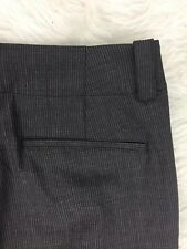 New listing NIKE Golf Pants Womens 6 Gray Pin Stripe Slacks w/Cuff Fully Lined