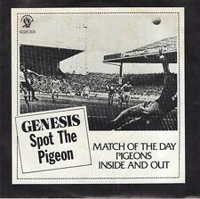 7inch GENESIS spot the pigeon 1977 EX+  (S2313)