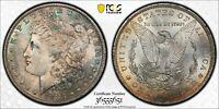 1883-O SILVER MORGAN DOLLAR PCGS MS64 BEAUTIFUL TONED GEM BU UNC CHOICE (MR)