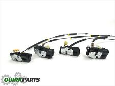 07-08 Suburban Avalanche Tahoe Yukon Door Lock Actuator Motor Set (4) OEM NEW