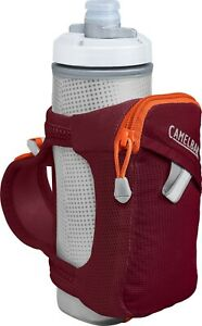 CamelBak Quick Grip Chill Handheld Water Bottle 17oz Burgundy/White