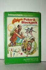 LAS VEGAS POKER & BLACKJACK USATO INTELLIVISION EDIZIONE AMERICANA FR1 39196