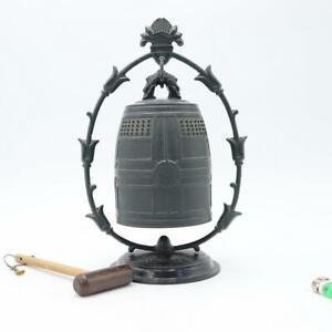 Japanese Buddhist Bronze Bell Yakushiji Temple Buddhism Hakuho BOS392