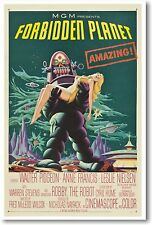 Forbidden Planet - NEW Vintage Reprint POSTER