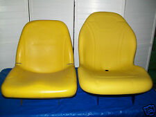 YELLOW SEAT JOHN DEERE X485,X495,X575,X585,X595,X720,X724,X740,X748,X729,X749#DO