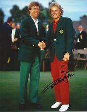 **GFA PGA Golfer *BERNARD LANGER* Signed 8x10 Photo AD3 COA**