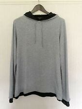 Men's Medium Grey COS Hoodie Hoody Hooded Sweatshirt