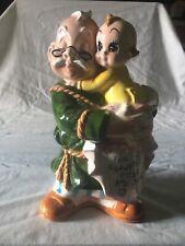For Grandpa's Pride And Joy Ceramic Figural Bank