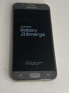 Samsung Galaxy J3 Emerge SM-J327P 16GB - Silver