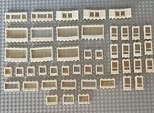 Lego Vintage Alte Fenster Und Tür Weiß 46 Stück City Creator Eisenbahn (83)