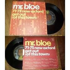 MR.BLOE - 71-75 New Oxford Rare French PS 7' Funk Beat 1971