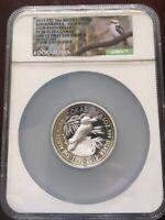 2015 5oz Australian $8 Kookaburra High Relief 25th Ann NGC PF70 Ultra Cameo