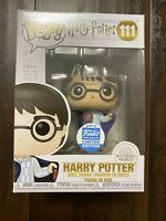 Funko POP! Harry Potter In Invisibility Cloak Funko Shop Exclusive #111