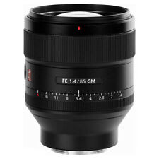 Sony Fe 85mm f/1.4 GM Lente SEL85F14GM