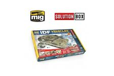 Ammo Mig: 7701 IDF Vehicles Colors and Weathering Solution Box 03 - Ammo of Mig