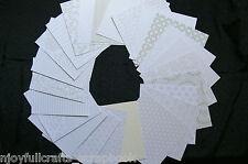 PEARLIZED Card Kit 24 Designs - 17 Pearl 6 Matt 1 Glitter - 6x6 Single Sided