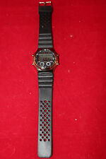 Men's Wrist Watch Alarm Chrono Stainless Steel Precision Back Made in China