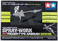 Tamiya 74549 SPRAY-WORK HG Trigger-Type Airbrush (Super Fine) (0.2mm Nozzle)