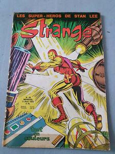 BD comics Strange T28 Stan Lee LUG