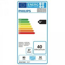 Philips 32 Zoll LED Fernseher 80cm Diagonale USB-Aufnahme Pause-TV, 32PHS4112