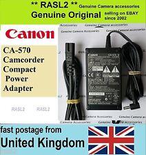 Genuine originale Canon CA-570 Adattatore di alimentazione XA35 XA25 XA20 XA10 LEGRIA HF G25 20