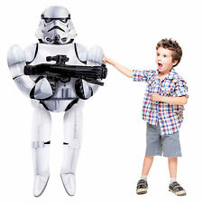 Star Wars Stormtrooper AirWalker Jumbo Foil Balloon Birthday Party Supplies AWK