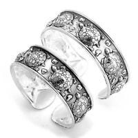 Tibetan Silver Totem Open Cuff Bangle Bracelet Women Gift Jewelry