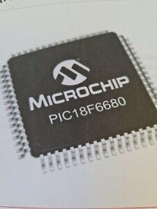 PIC18F6680-I/PT Microchip, 8bit PIC Microcontroller, PIC18F, 1.024kB, 64kB Flash