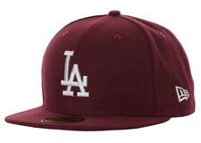Era 59fifty los Angeles Dodgers Cap Seasonal Contrast Maroon/grey