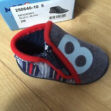 booties baby boy Modemo of Mod8. blue jeans size 20 uk 4