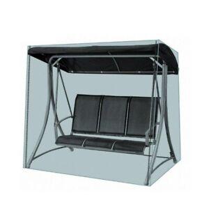 Telo telone copertura Dondolo 3 posti con occhielli per esterno 185x150x115 cm