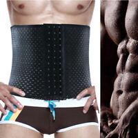 US Men Waist Trainer Cinchers Body Fajas Corset Gym Sport Women Shaper Slim Belt