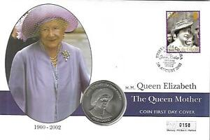 2000- Tristan Da  - ''Life and Time of the Queen Mother''50p (BU) Mercury Ltd Ed
