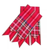 Scottish Kilt Hose Flashes Royal Stuart/kilt Sock Flashes/kilt Flashes Red